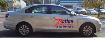 action's transportation